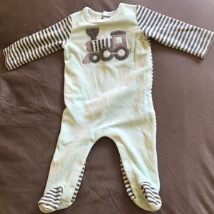 First impressions baby footed onesie